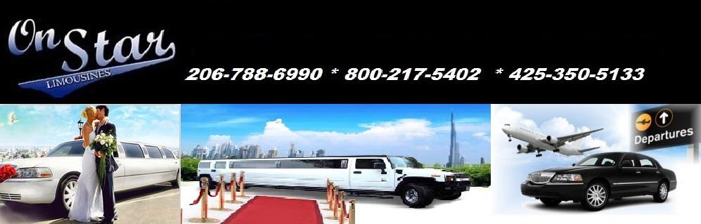 Seattle Airport Limousine, Sedan and Town Car Transportation Service OnStar Limousine
